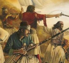 Η πανωλεθρια των Ελληνων στη μαχη...